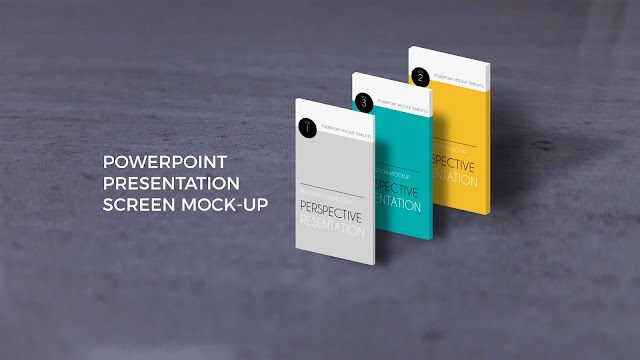 App Screen Mock-ups in Best Powerpoint Templates Slide 3