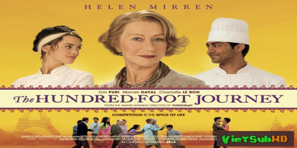 Phim Hành Trình 100 Bước Chân VietSub HD | The Hundred Foot Journey 2014