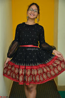 Aditi Myakal in Spicy Red Short Skirt and Transparent Black Top at at Big FM For Promotion of Movie Ami Tumi 009.JPG