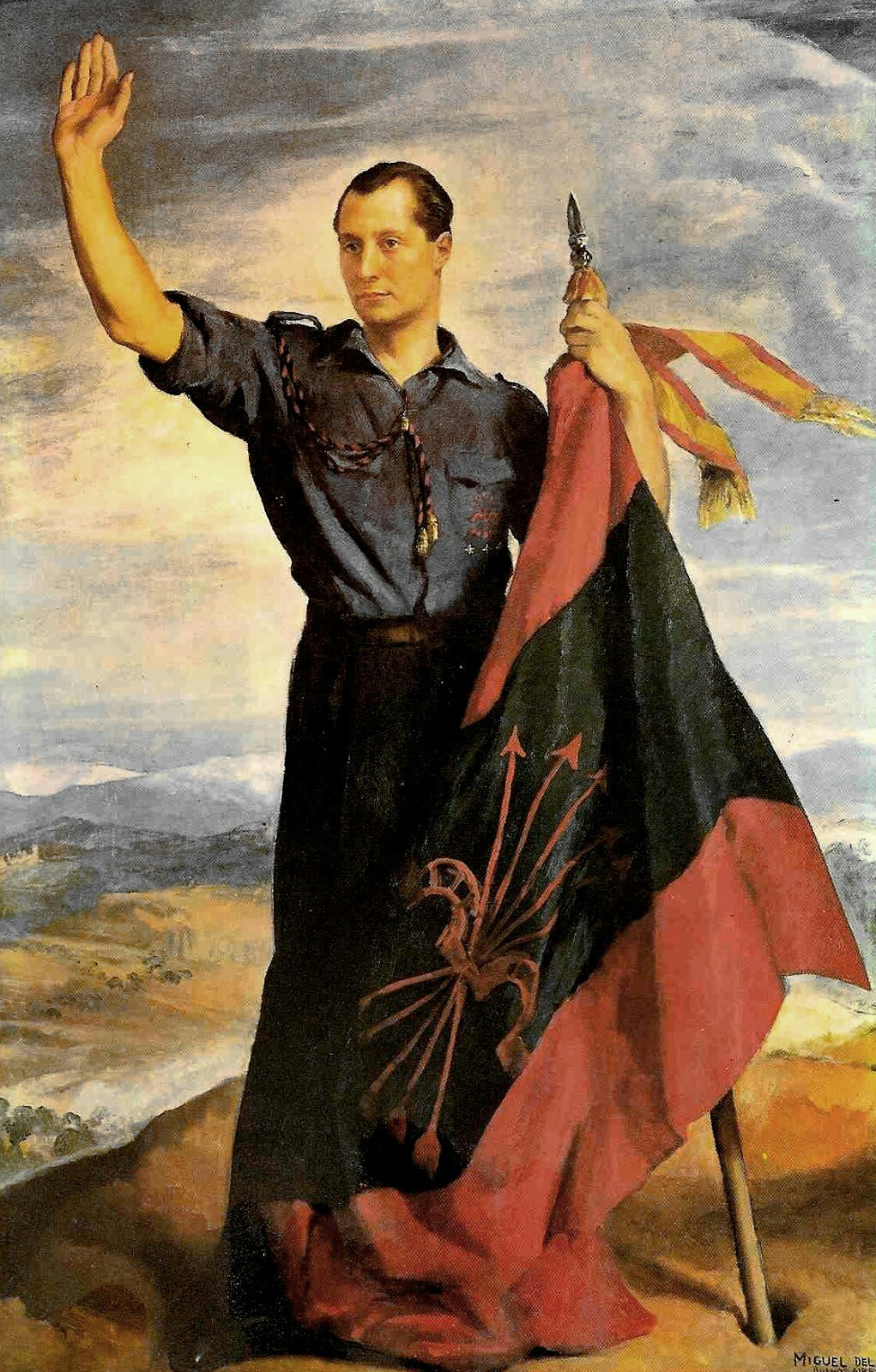 alternative right the untold victors the spanish civil war as the falangist martyr joseacute antonio primo de rivera