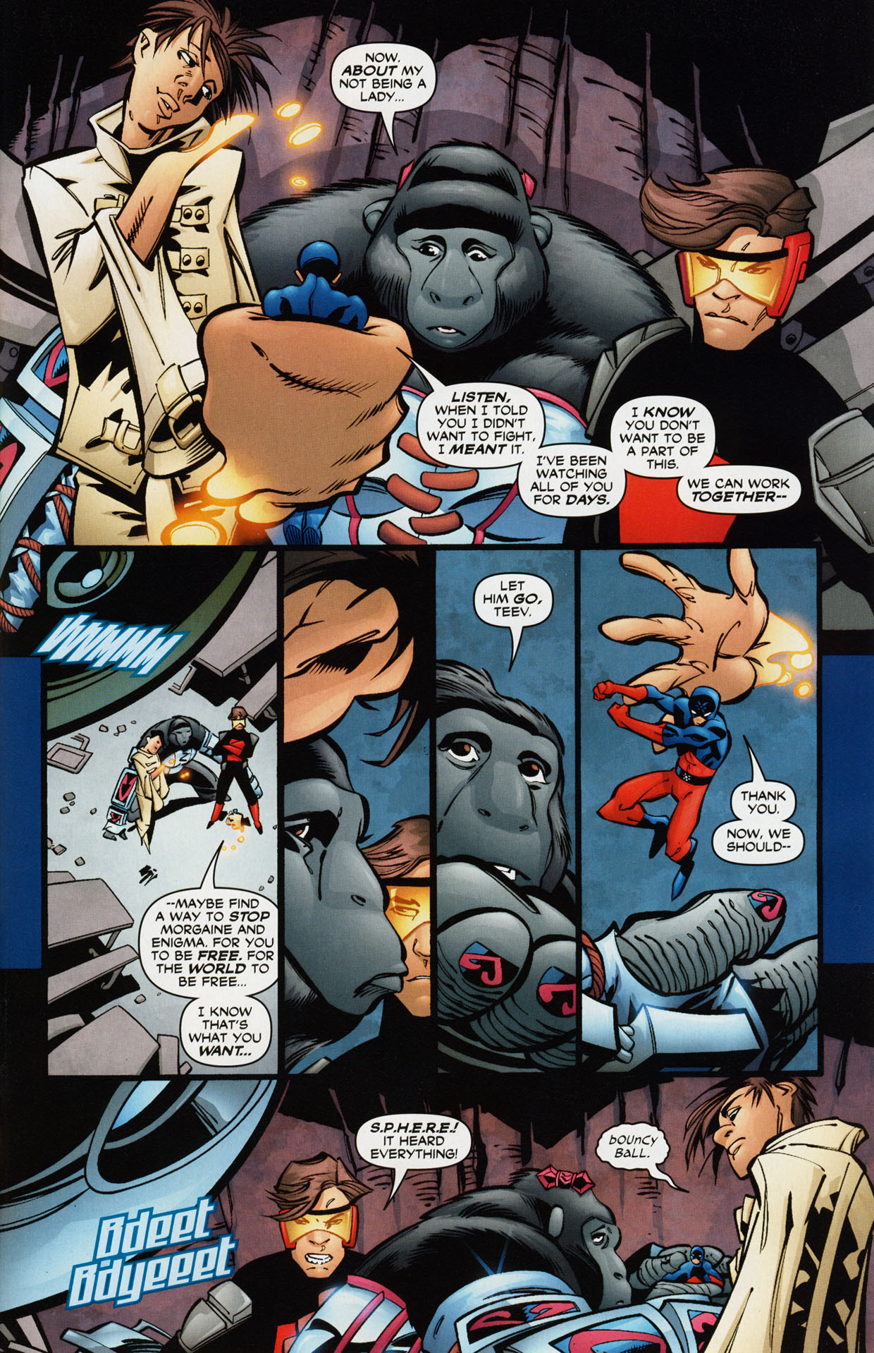 Read online Trinity (2008) comic -  Issue #36 - 28