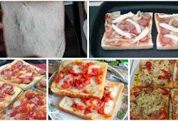 Cara Buat Pizza Roti Tawar Barthleyz