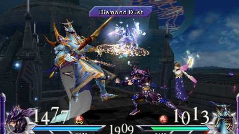 Download Dissidia 012 : Final Fantasy + Mod Character ISO PPSSPP