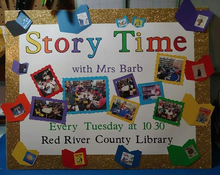 Story & Activity Time with Mrs. Barb ~ EVERY Tuesday ~ 10:30 am