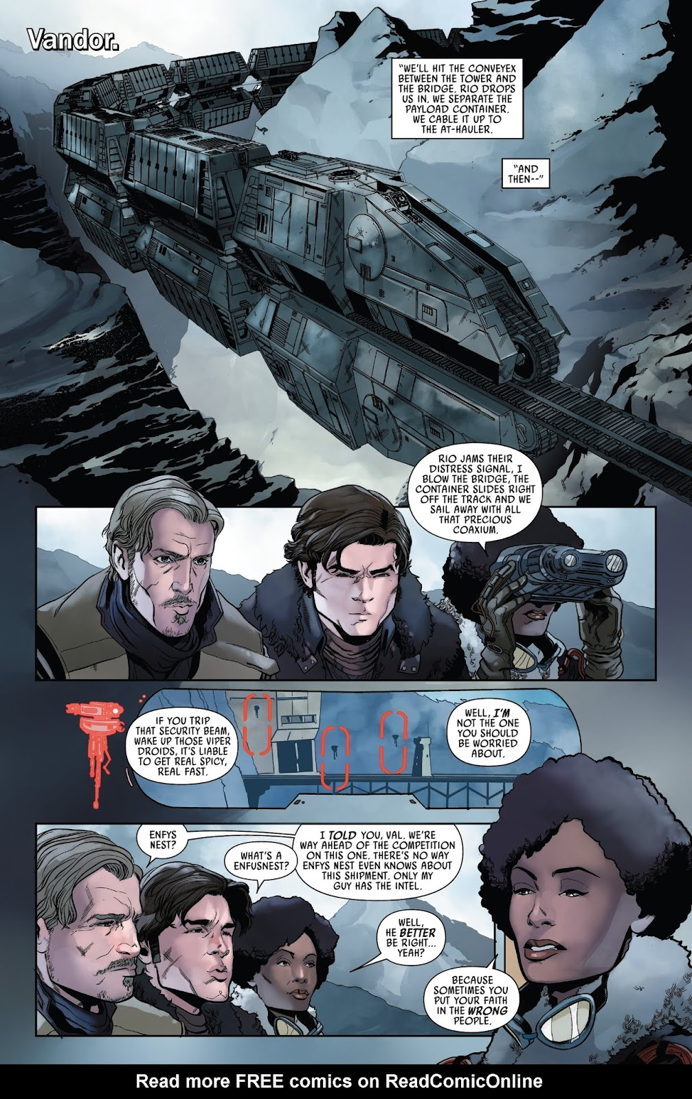 Read online Solo: A Star Wars Story Adaptation comic -  Issue #2 - 9