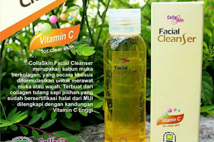 (Lengkap) Manfaat Collagen Collaskin Facial Cleanser PT Natural Nusantara