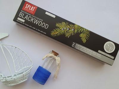 splat diş macunu, siyah diş macunu, splat blackwood,