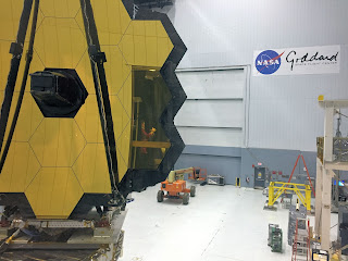 JWSTArt Event, First look at James Webb Space Telescope