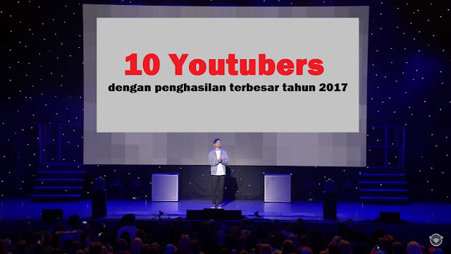 top ten youtubers 2017