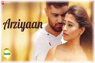 Arziyaan Lyrics | Shahid Mallya Poster