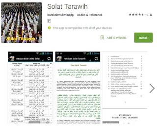 Tips Tarawih & Ramadhan