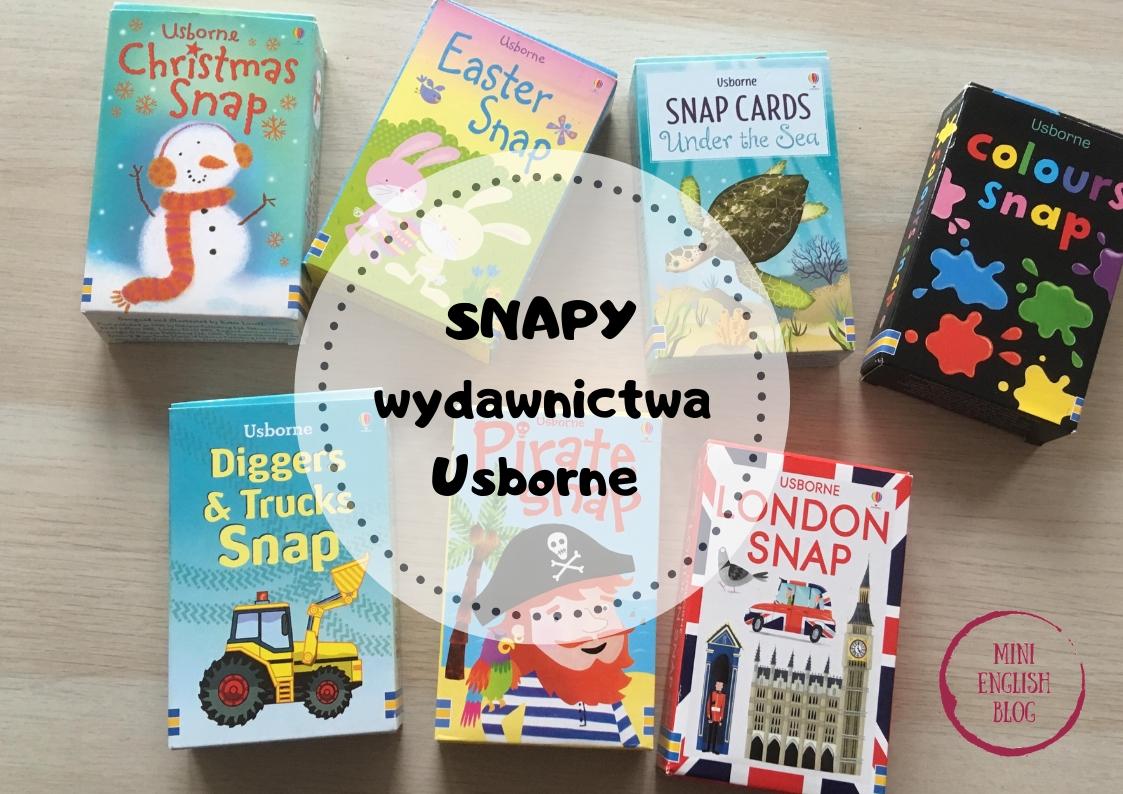 Snapy wydawnictwa Usborne. Zbiór pomysłów i KONKURS