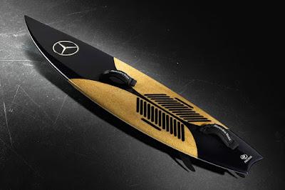 Tabla surf mercedes Benz