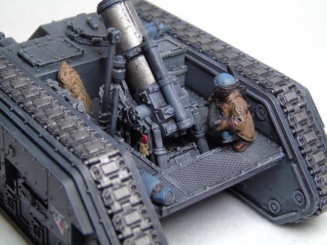 steel legion griffon tank 40k
