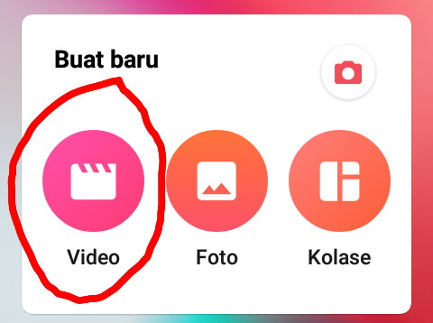 Cara crop video di android