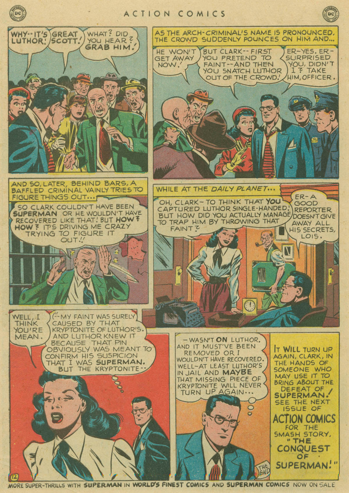 Read online Action Comics (1938) comic -  Issue #141 - 13