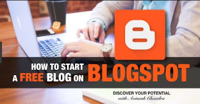 How to start a blog on blogspot
