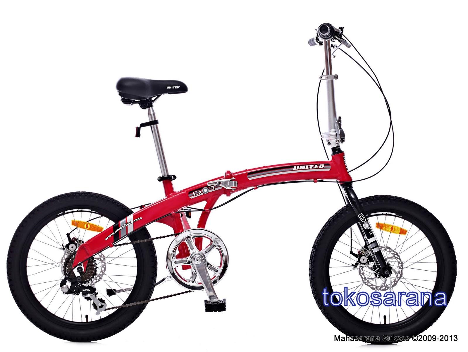 tokosarana™ | Mahasarana Sukses™: Sepeda Lipat United DOT