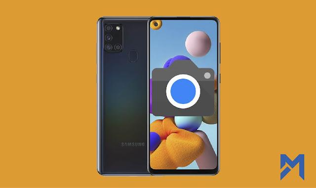 تحميل تطبيق جوجل كاميرا 7.4 لهاتف سامسونج Samsung A21s