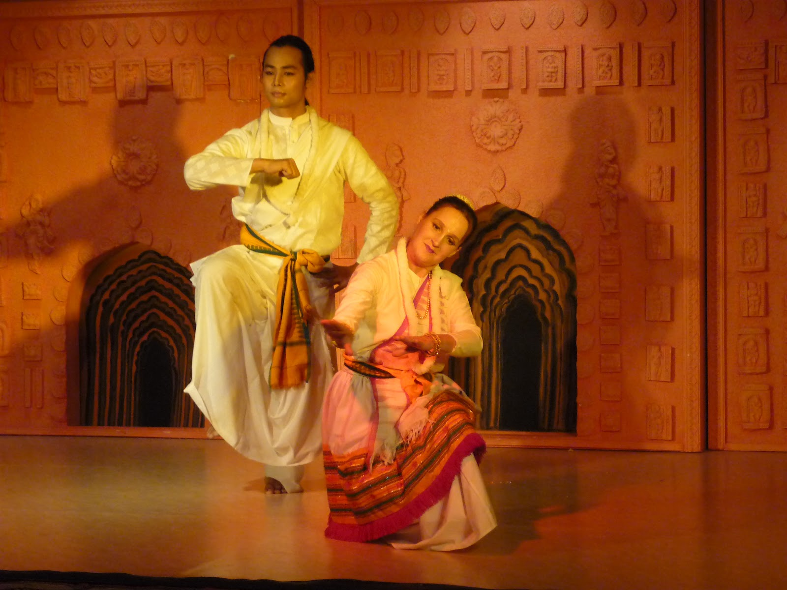 Danse Manipuri : Angela Sterzer et Manju Elangbam