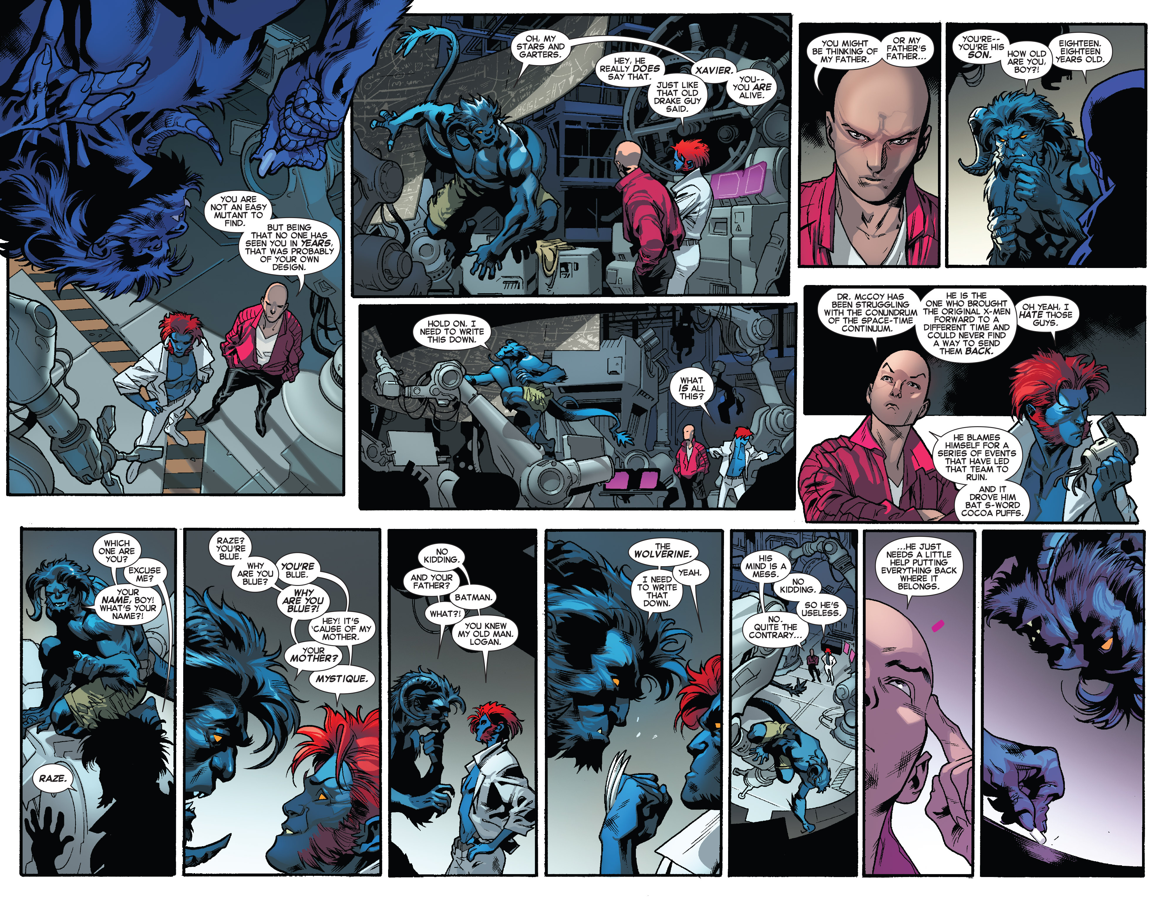 Read online All-New X-Men (2013) comic -  Issue #28 - 4