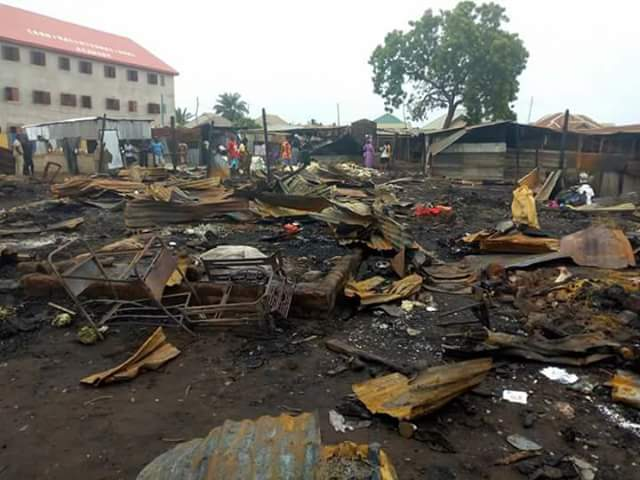 Angry mob destroy market in protest over killing of Catholic Priests, 17 worshippers in Benue State