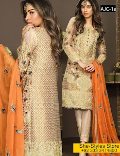Asim Jofa Eid ul Fits Mysorie Chiffon Collection 2017