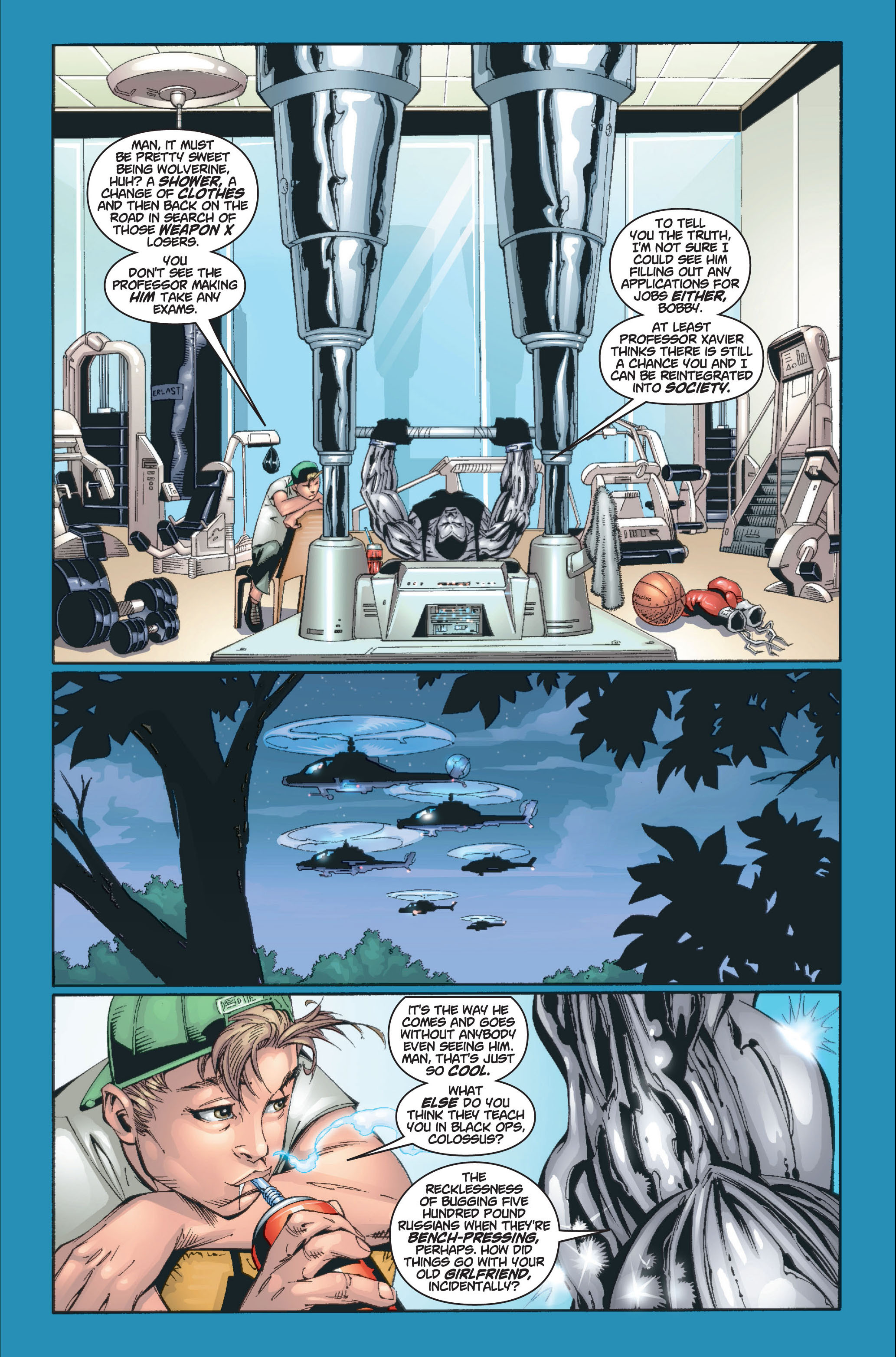 Read online Ultimate X-Men comic -  Issue #8 - 13