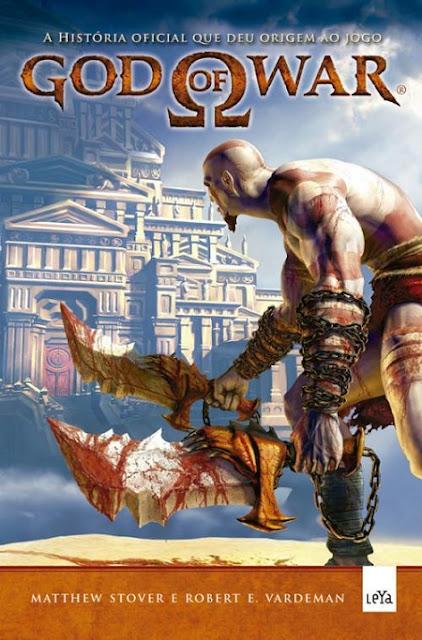 """News: Dos games para os livros ~ """"God of War"""" no Brasil 17"""