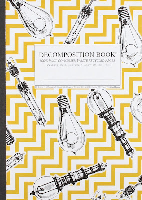 decomposition book with a lightbulb cover
