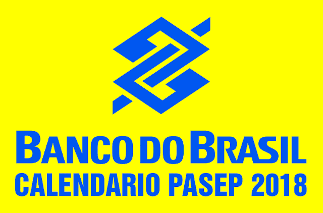 Calendário PASEP 2018