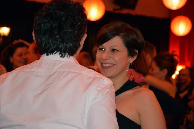 Giovanna Bettio sorride in milonga