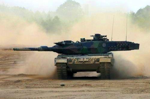 Tank Leopard 2 Jerman