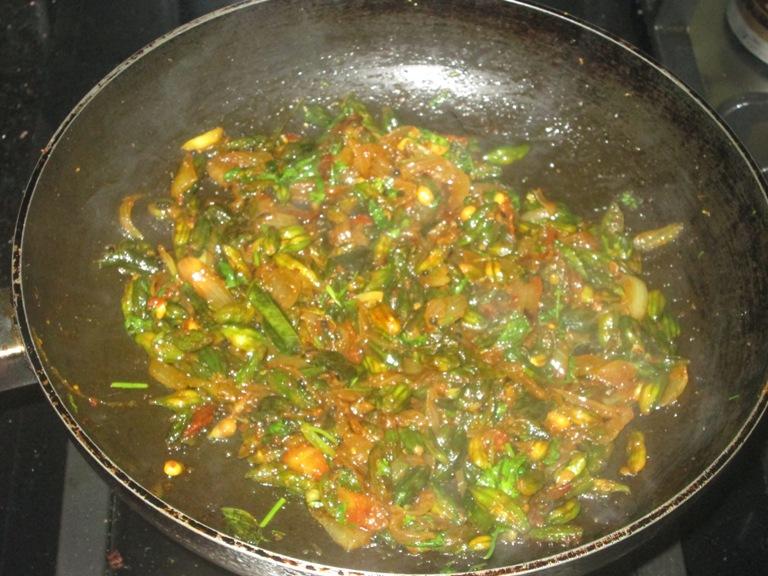 Shobha's Food Mazaa: BABY KARELA STIR FRY / KASARA KAYA VEPUDU
