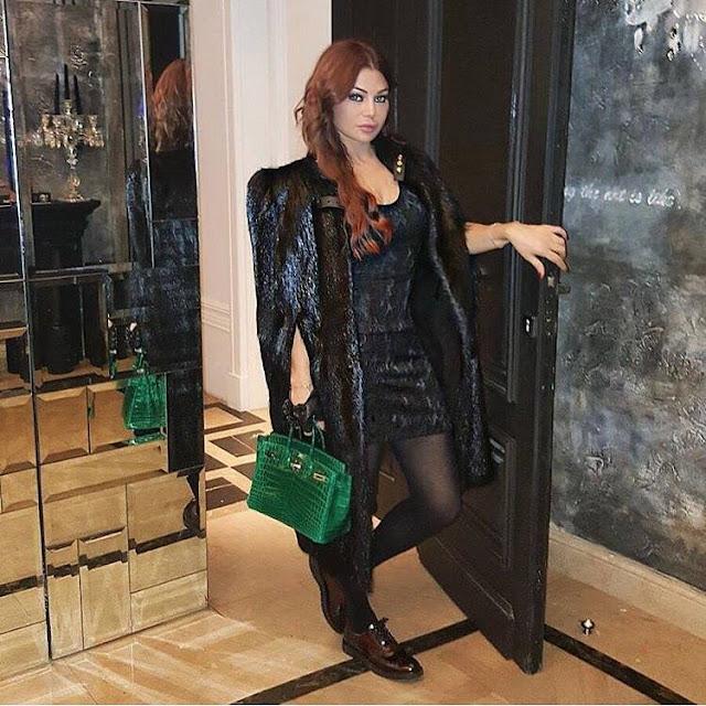 Haifa Wehbe est aussi connoisseuse en accessoires de mode !
