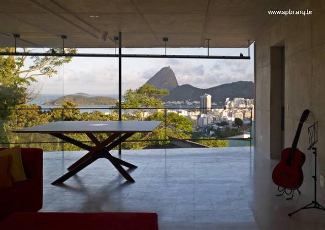 Casa de estilo Contemporáneo en Río de Janeiro