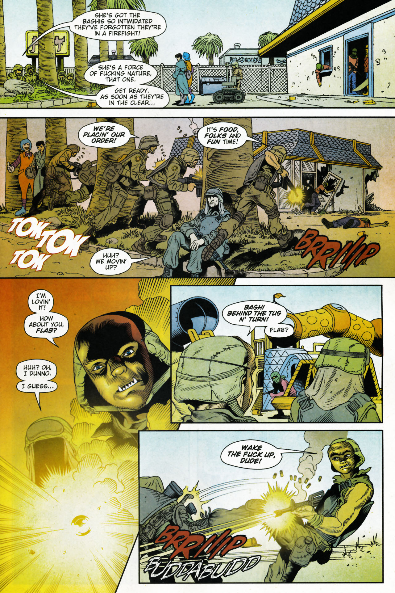 Read online Army @ Love comic -  Issue #4 - 18