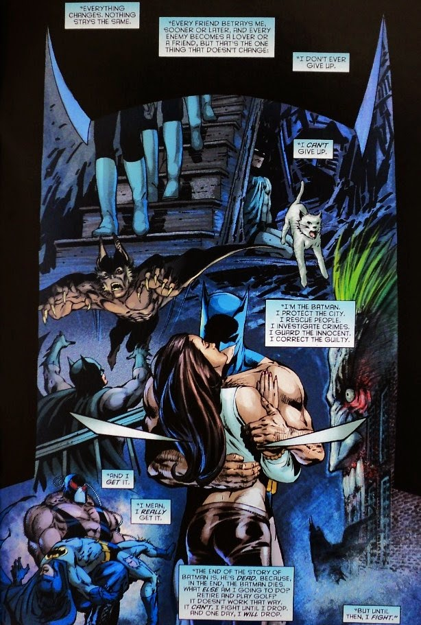 whatever happened to the caped crusader ending a relationship