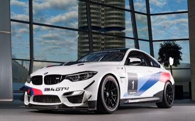 BMW M4 GT4 2 - Fond d'écran en Full HD 1080p