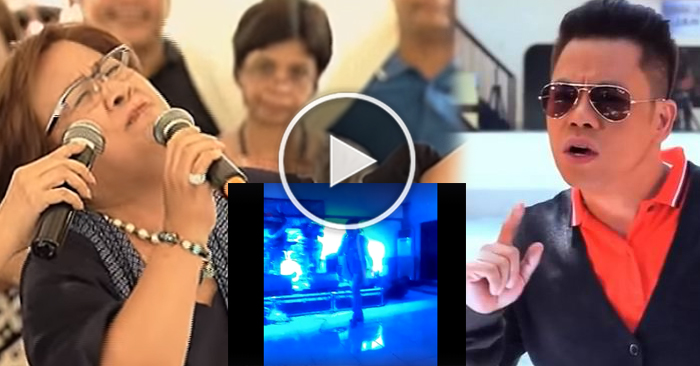 "BREAKING NEWS: Watch Leila De Lima Sings ""Careless Whisper"" Together With Herbert Colango Band Inside Bilibid"
