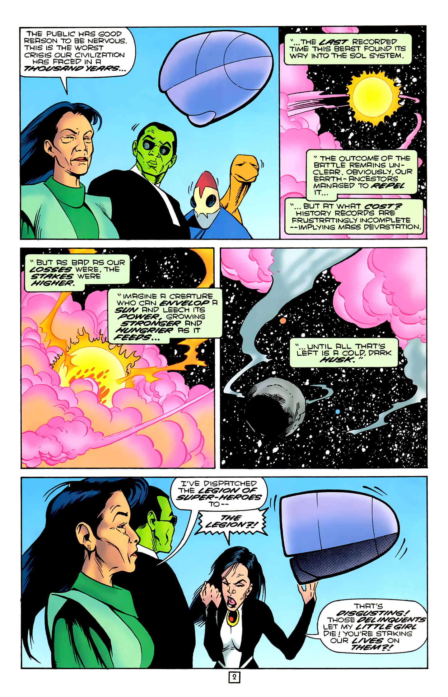 Legion of Super-Heroes (1989) 78 Page 2