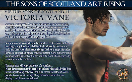 Victoria Vane is back w/ VIRTUE (The Sons of Scotland #1)