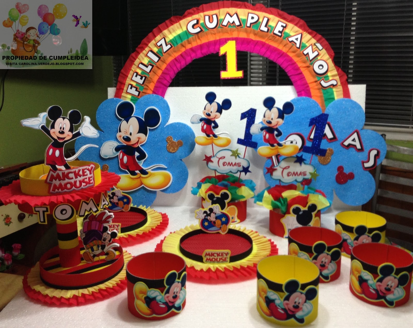 Decoraciones Infantiles Mickey Mouse