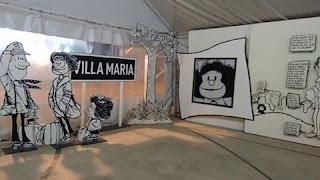 """Se presentará en el festival Villa Maria vive y siente la muestra """"el mundo según Mafalda"""
