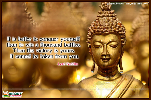 English Nice Inspiring Gautama Buddha Life Quotations