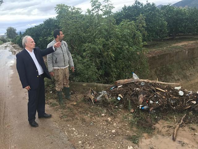 """Ανδριανός: Να ξεκινήσει άμεσα η καταγραφή των ζημιών από το κυκλώνα """"Ζορμπά"""" και η διαδικασία αποκατάστασης και αποζημίωσης"""