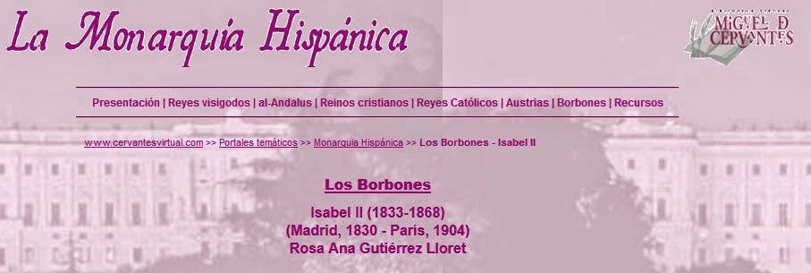 http://www.cervantesvirtual.com/bib/historia/monarquia/isabel2.shtml