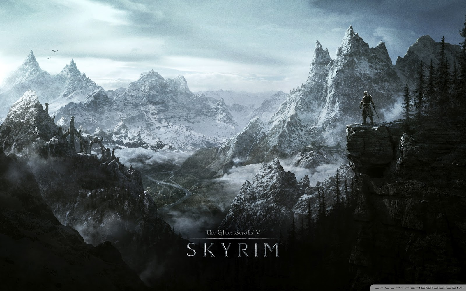 Freaking Spot: Elder Scrolls V Skyrim Full HD 1080p Wallpapers