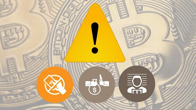 riesgos de usar un grifo bitcoin