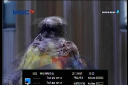 Frekuensi MNC (MPEG2) terbaru di Palapa D 113°E